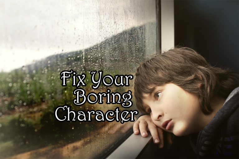 Fix Your Boring Character