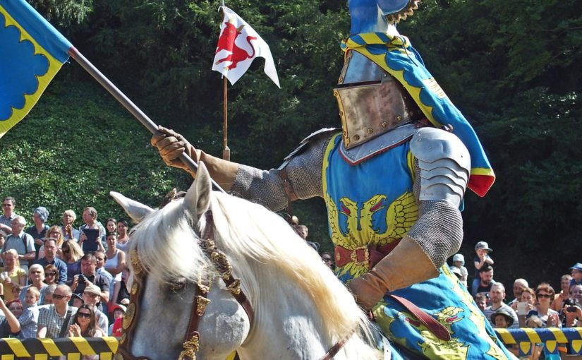 A Knight ready for the Joust