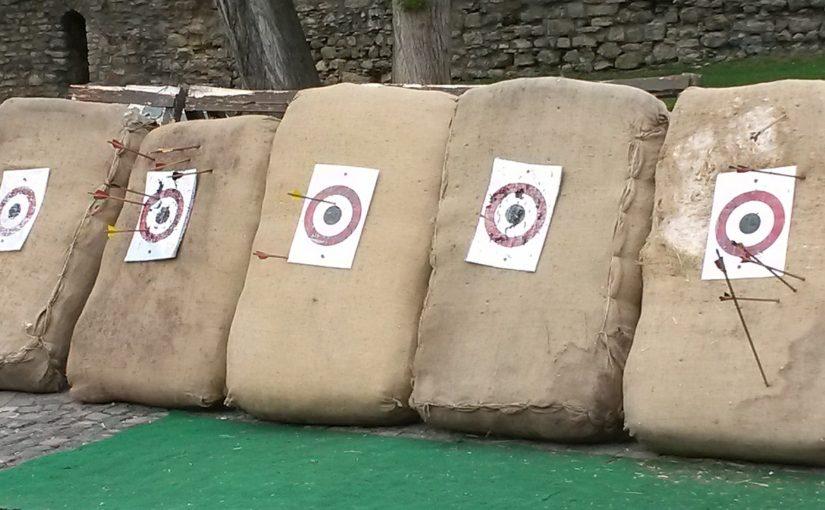 Arrows missing their target