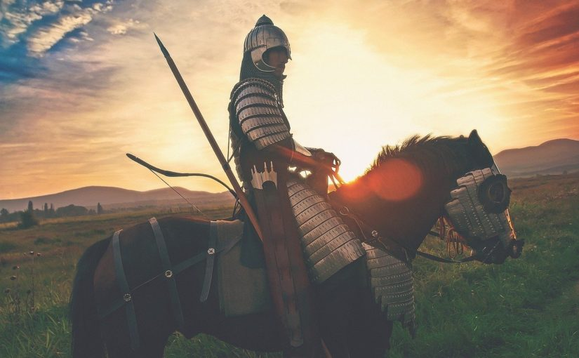 A Knight on a Horse