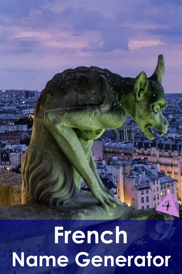 French Name Generator