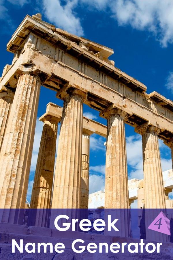 Greek Name Generator
