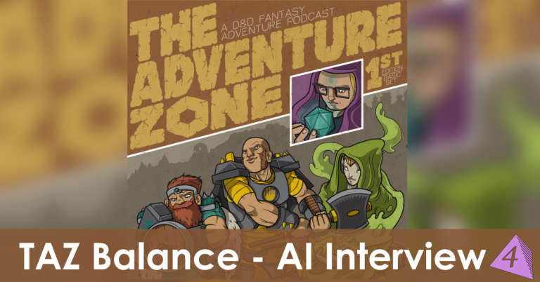 The Adventure Zone: Balance AI Interview