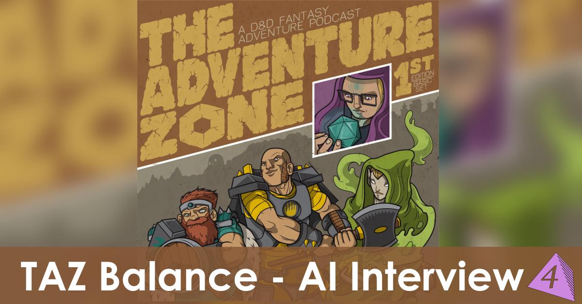 The Adventure Zone Balance Logo