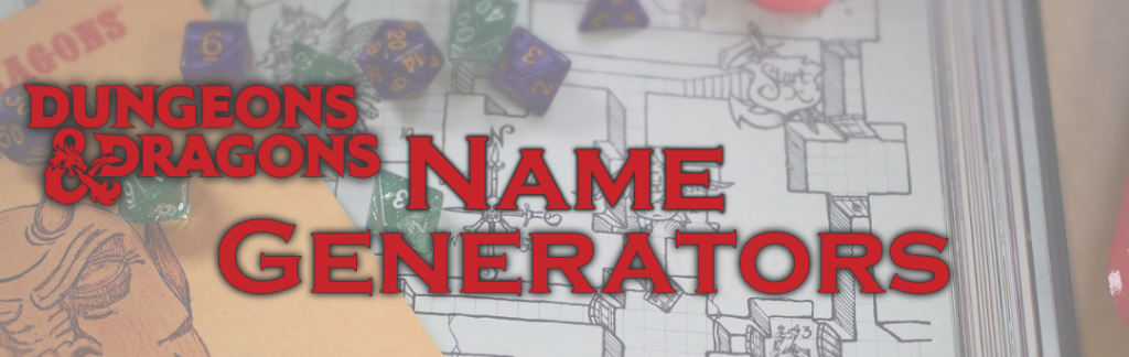 D&D Name Generator Picture