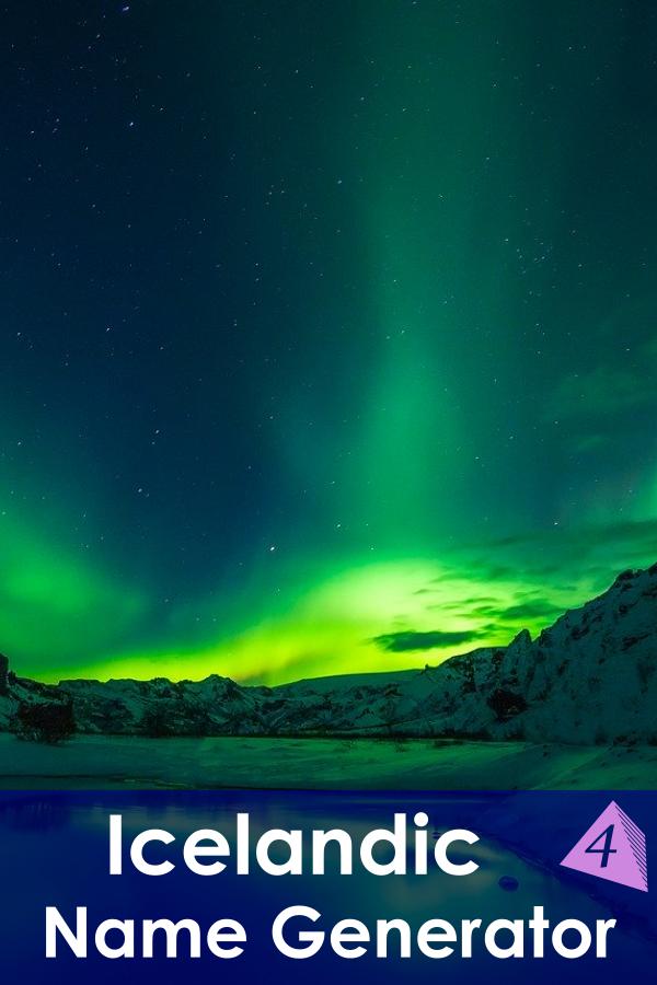 Icelandic Name Generator
