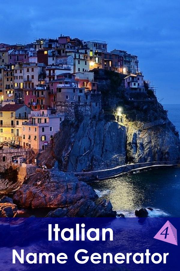 Italian Name Generator