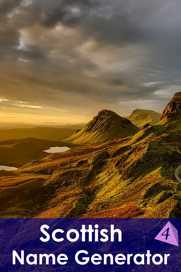 Scottish Name Generator