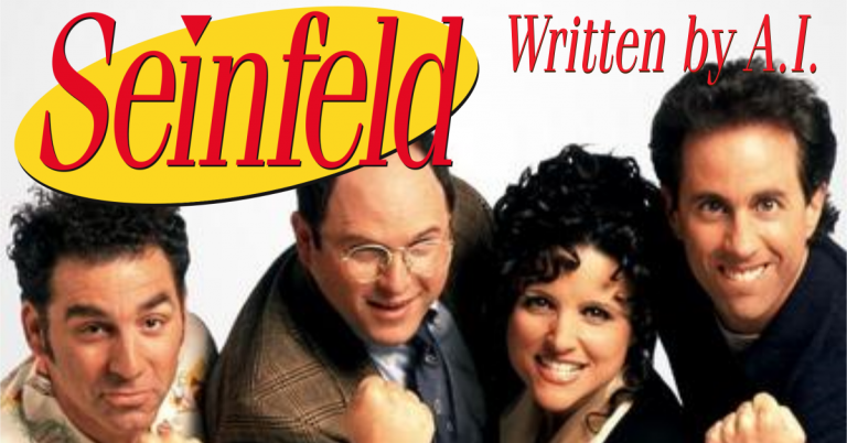 Seinfeld by AI: A Script about Nothing