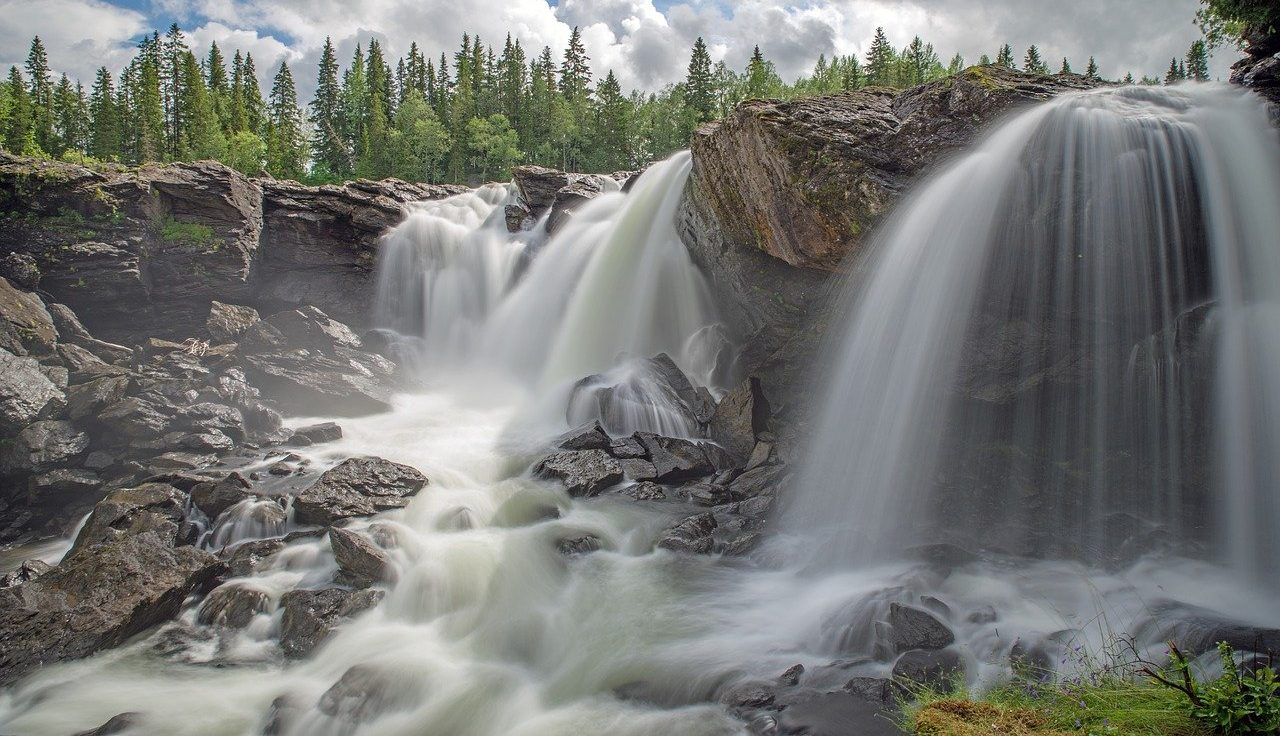 Picture of Swedish Waterfall