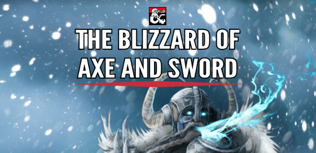 The Blizzard of Axe and Sword cover
