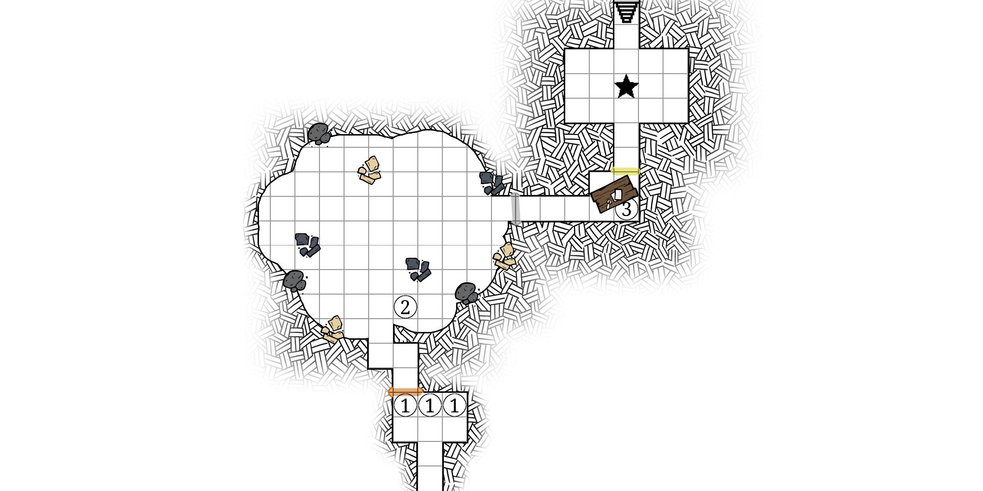 Dungeon Map Doodler Map