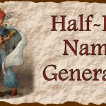 D&D Half-Elf Name Generator