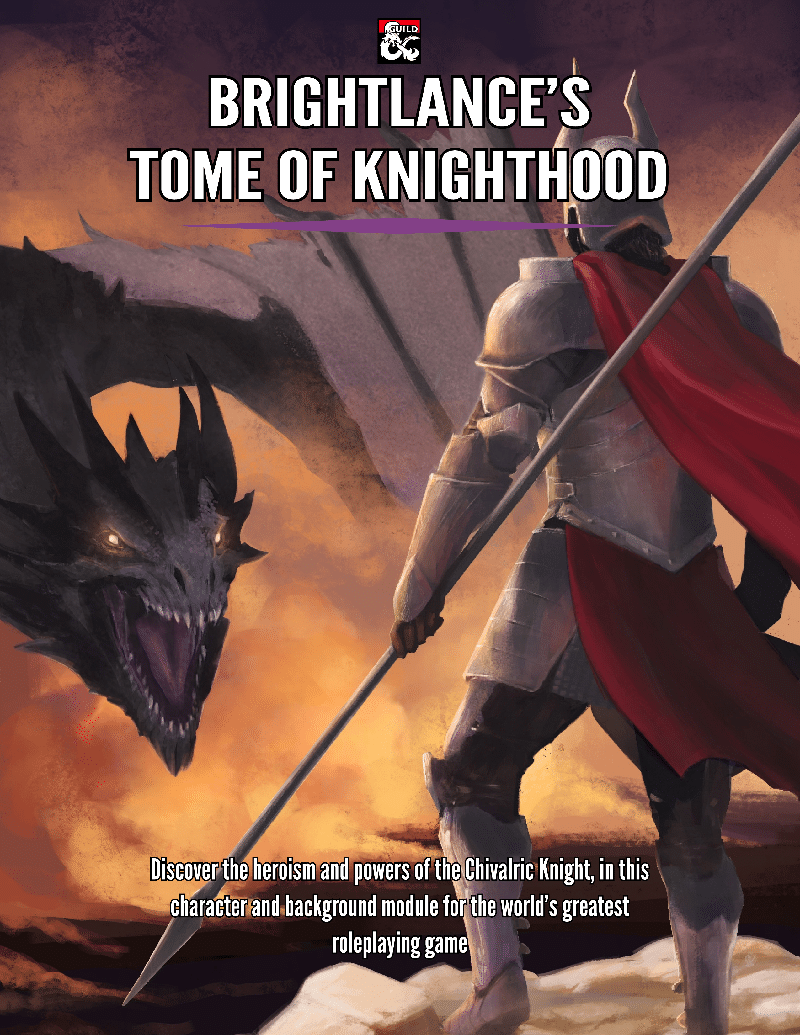Review: Brightlance\'s Tome of Knighthood