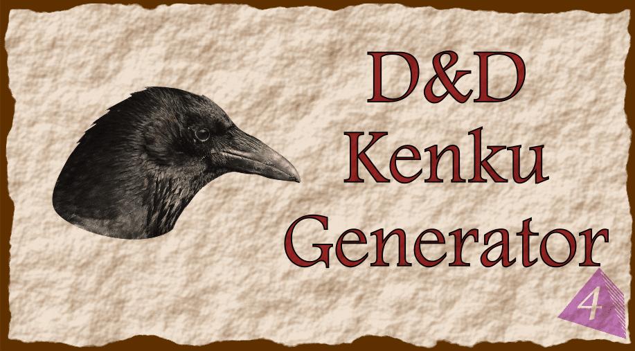 D&D Kenku Name Generator