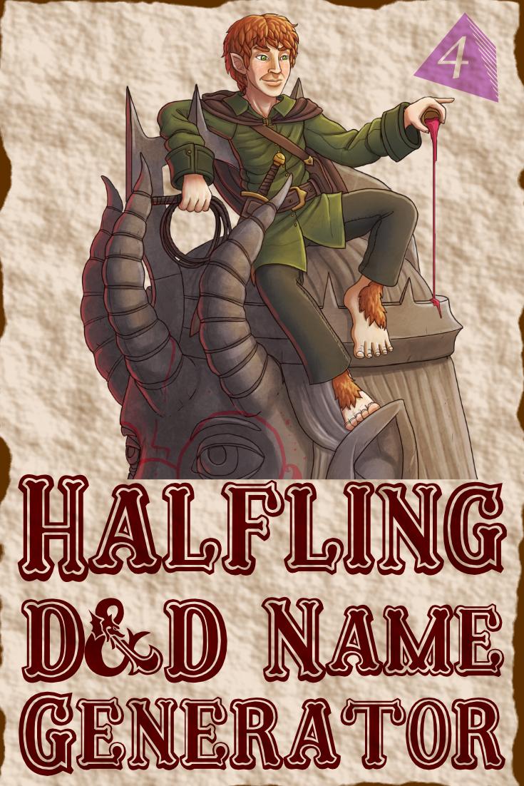 D&D Halfling Name Generator