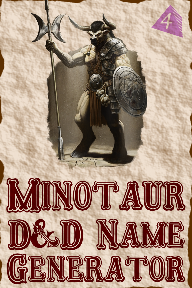 D&D Minotaur Name Generator