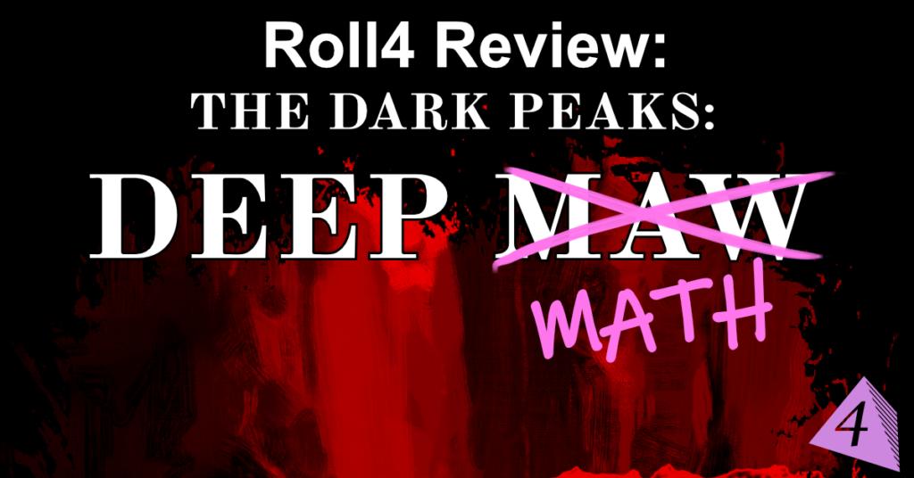 Dark Peaks: Deep Math