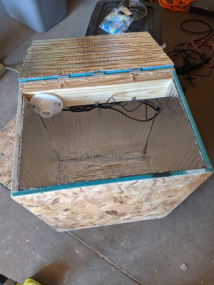 Building a Heat Box for Resin Casting
