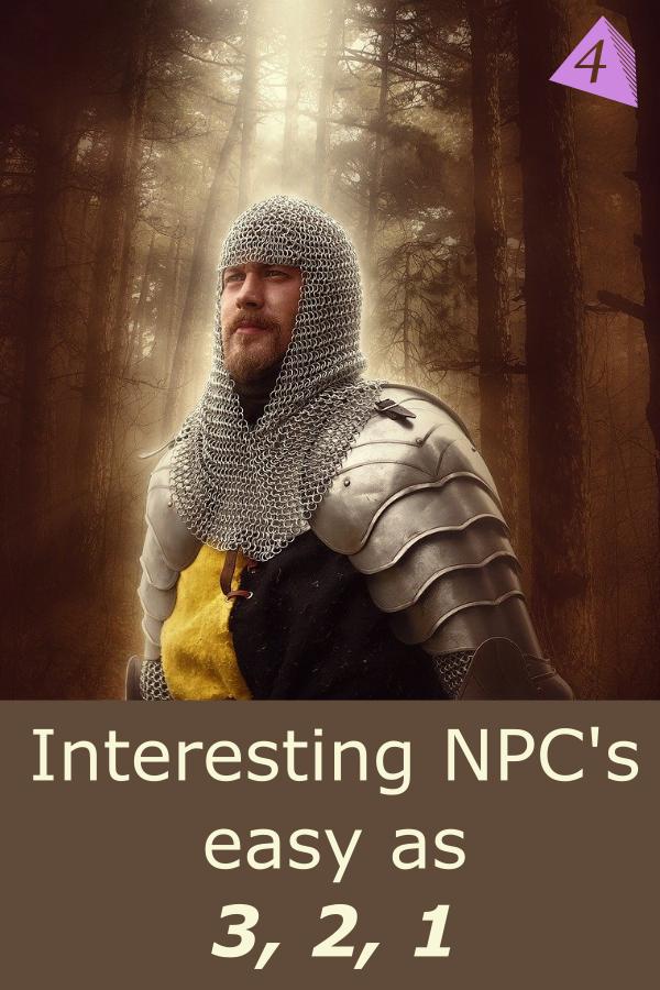 Interesting NPC\'s as easy as 3, 2, 1
