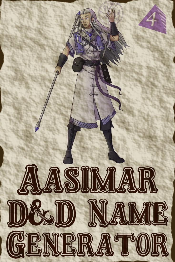 D&D Aasimar Name Generator