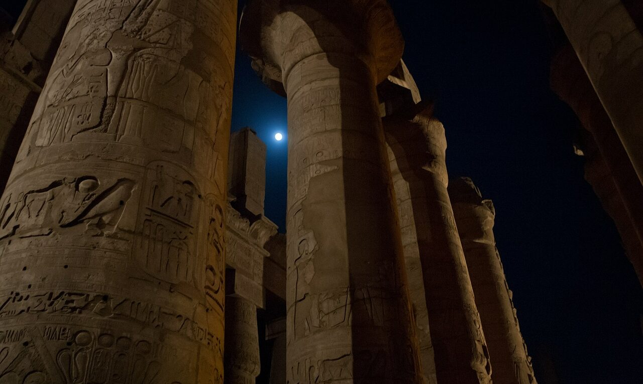 Image of Ancient Egyptian Columns