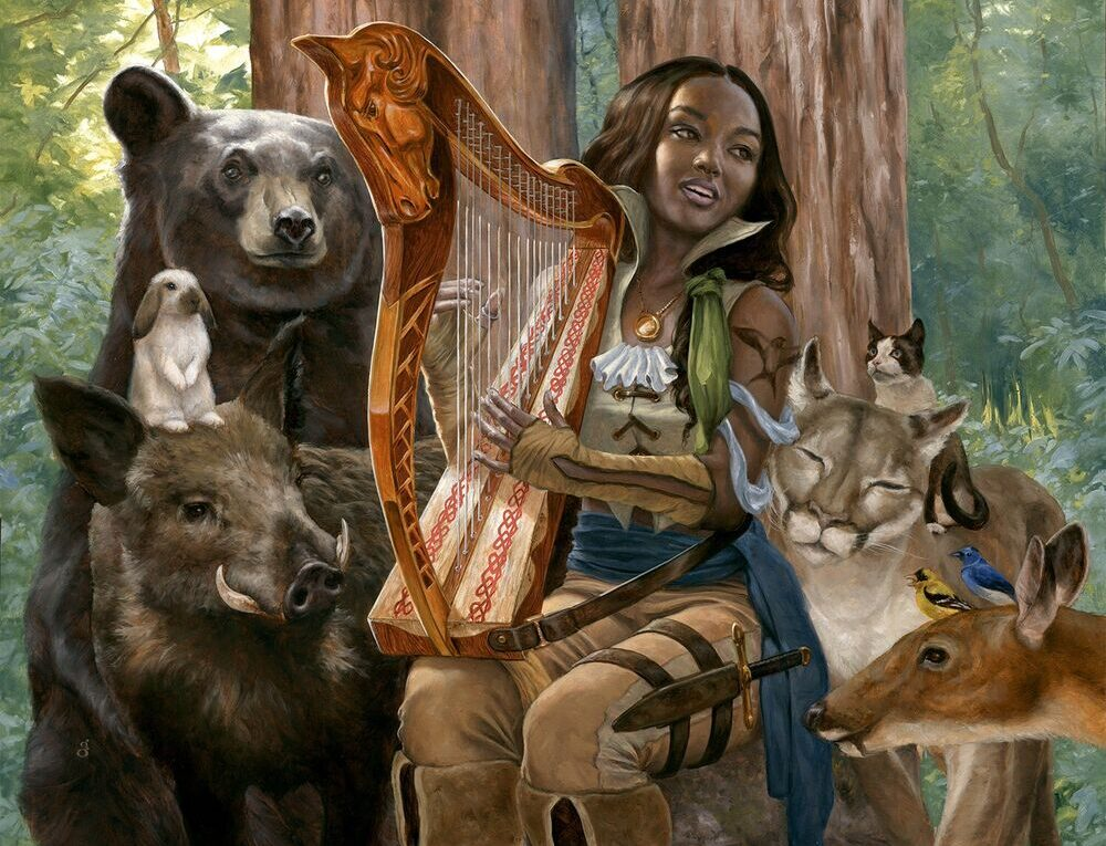 Picture of a Wood Elf, Owned by Wizards of the Coast