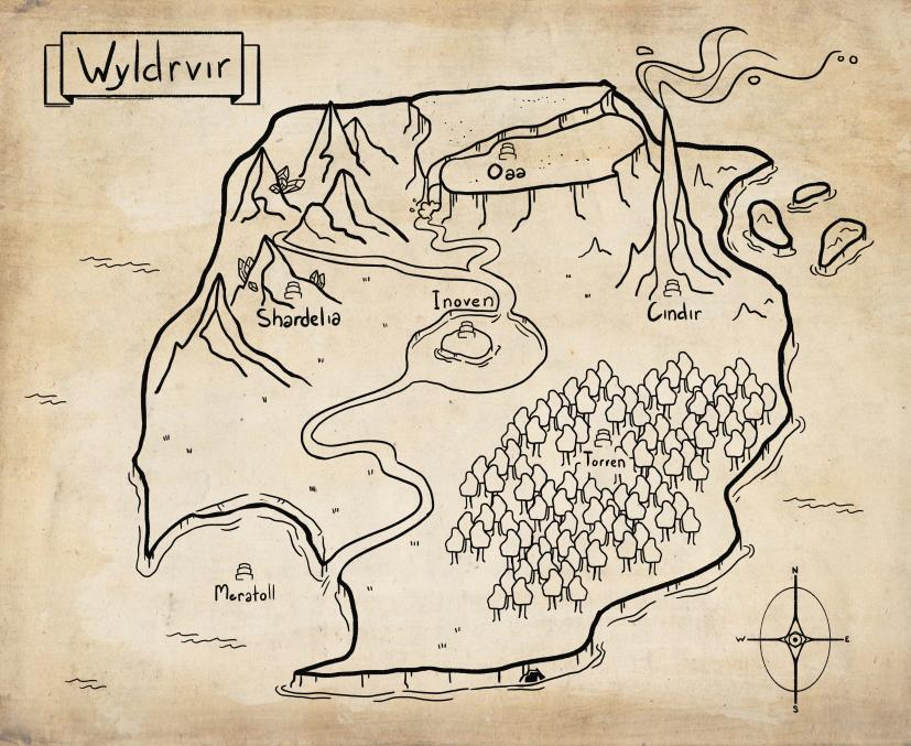 Wyldrvir Map • Roll4 Network