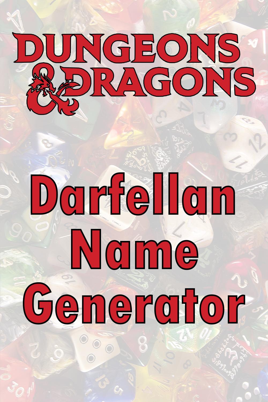 D&D Darfellan Name Generator