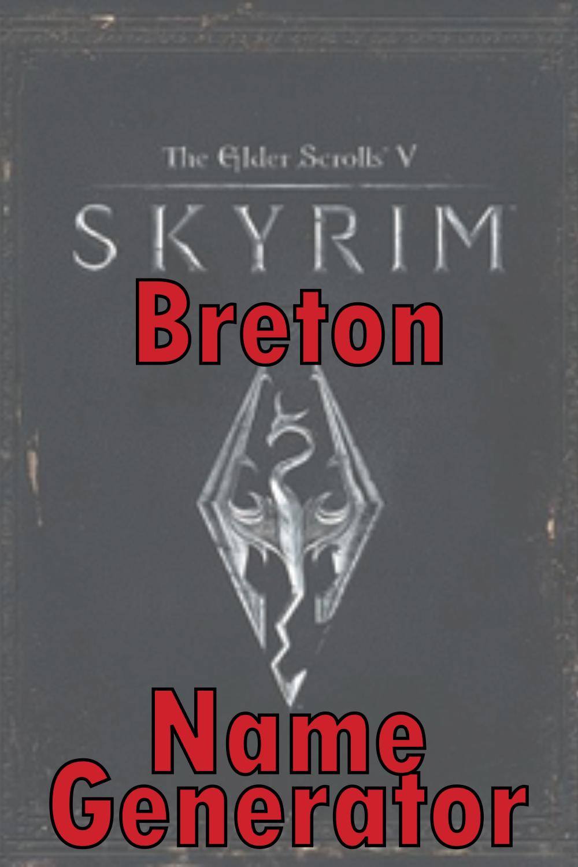 Breton Name Generator
